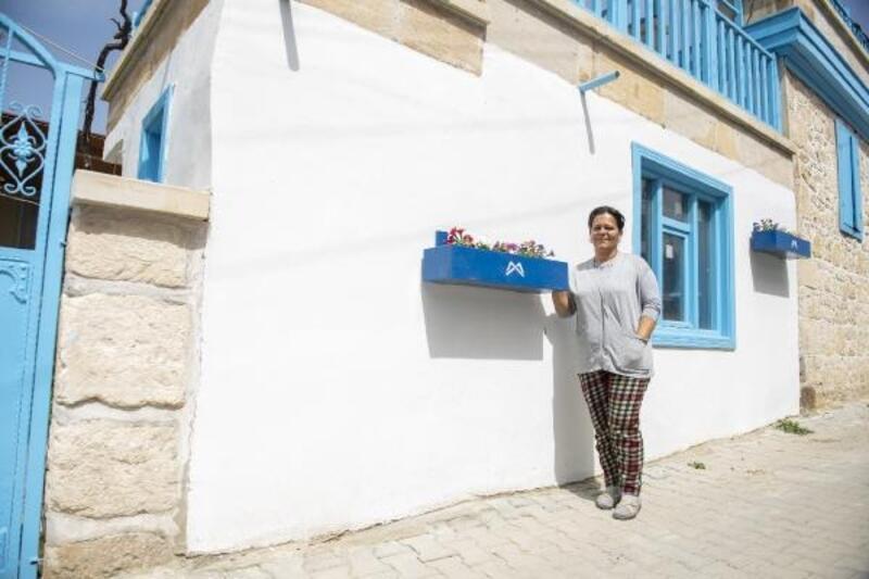'Giritli Köyü' renklendirildi