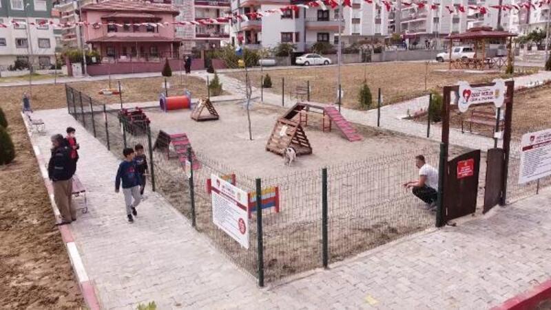 Tarsus'ta 'Dost Patiler Eğitim ve Oyun Parkı' açıldı