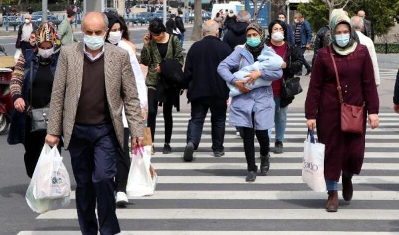 Kayseri'de 2 günlük kısıtlama öncesi yoğunluk