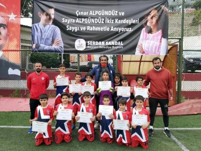 Depremde ölen çocukların ismi spor etkinliklerine verildi