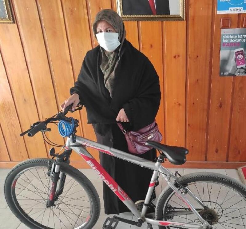 Kömürlükten bisiklet çalan şüpheli yakalandı