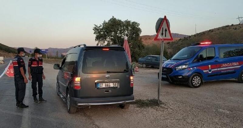 Taşkapı köyü karantinaya alındı