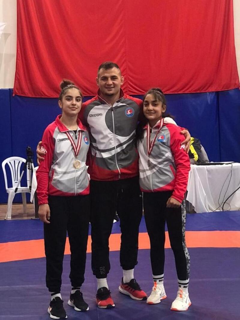 Burdur'dan milli takıma üç güreşçi