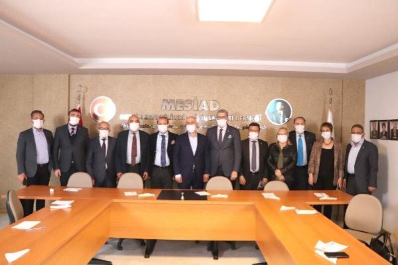 Başkan Gültak, MESİAD'ı ziyaret etti