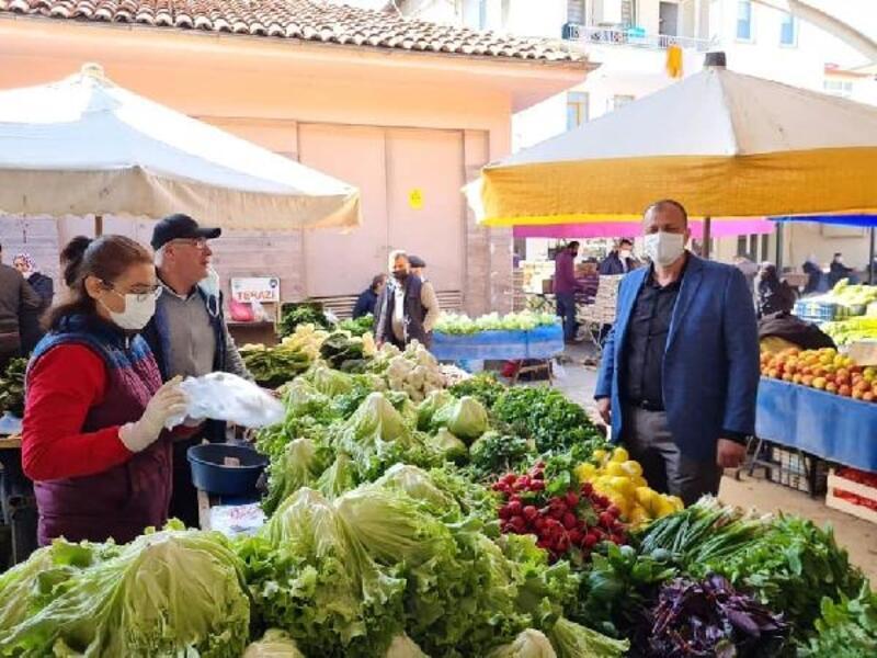 İznik Belediye Başkanı Usta'dan esnaf ziyaretleri