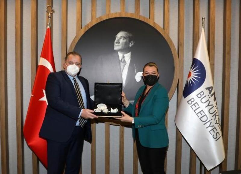 Hırvatistan Büyükelçisi'nden Büyükşehir'e ziyaret