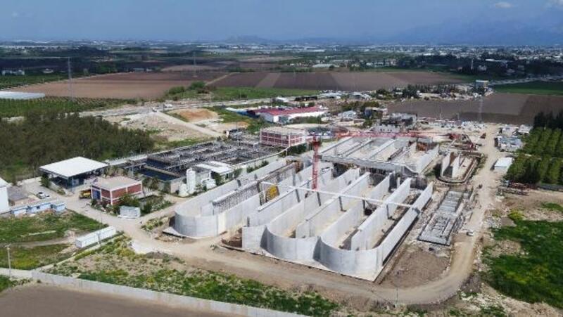 Serik 2 Arıtma Tesisi inşaatı sürüyor