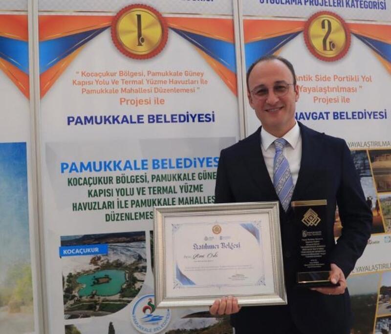Pamukkale Belediyesi'nin projesi 1'nci oldu