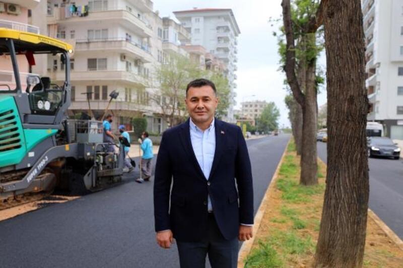 Ahmet Yatmaz Caddesi yenilendi