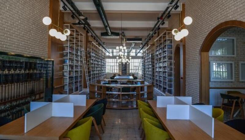 Cemil Meriç Kütüphanesi'ne AKBB'den ödül