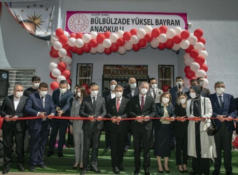 Gaziantep'te Bülbülzade Yüksel Bayram Anaokulu açılışı yapıldı
