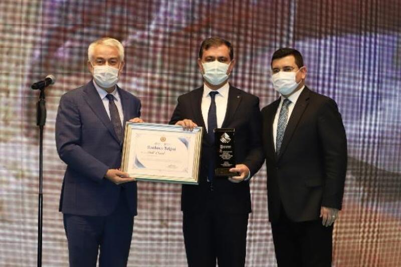 Elmalı Belediyesi'ne birincilik ödülü