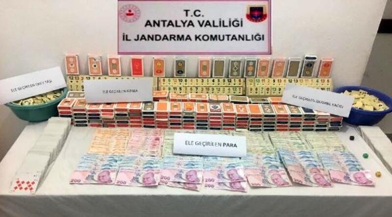 Jandarmadan kumar oynayan 16 kişiye 76.880 lira ceza