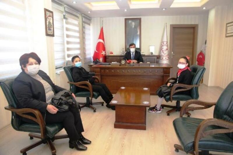 Bursa İl Milli Eğitim Müdürü Dülger, öğrencileri ağırladı