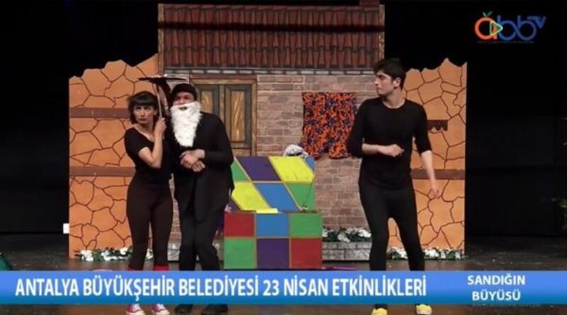 Büyükşehir'in Online Uluslararası 23 Nisan Çocuk Şenliği sürüyor