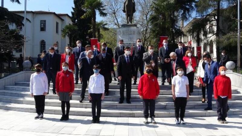 Bursa'da '23 Nisan' töreni