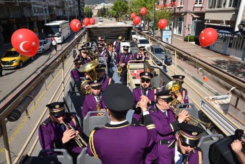 Bursa Büyükşehir Belediyesi'nden 23 Nisan etkinliği