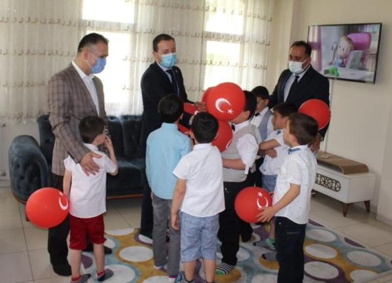 AK Parti Milletvekili Ahmet Kılıç'tan yetiştirme yurduna ziyaret