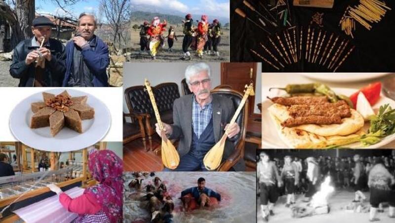 Burdur'un 11 unsuru ulusal envanterde