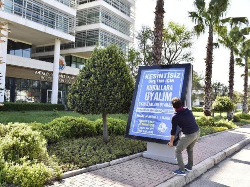 'Mavi OSB, Mavi Antalya' hareketi