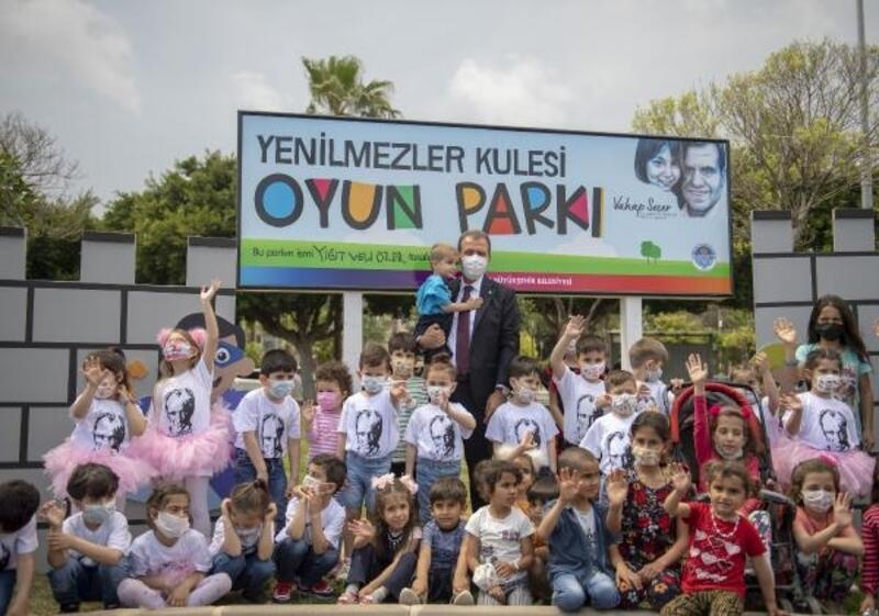Büyükşehir'den hem park açılışı hem de renkli 23 Nisan etkinliği