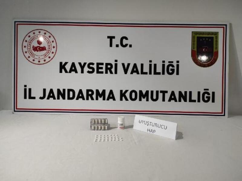 Kayseri'de 1 kişiye uyuşturucu gözaltısı