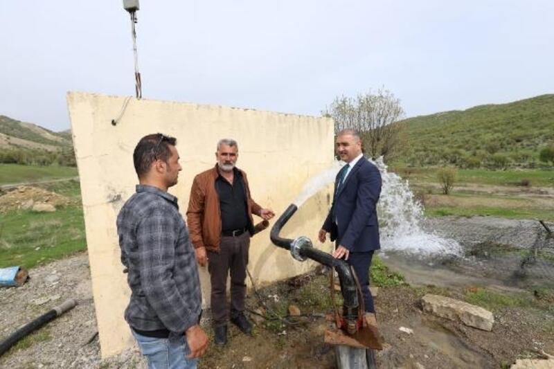 Dicle ilçesinde su sorununa çözüm