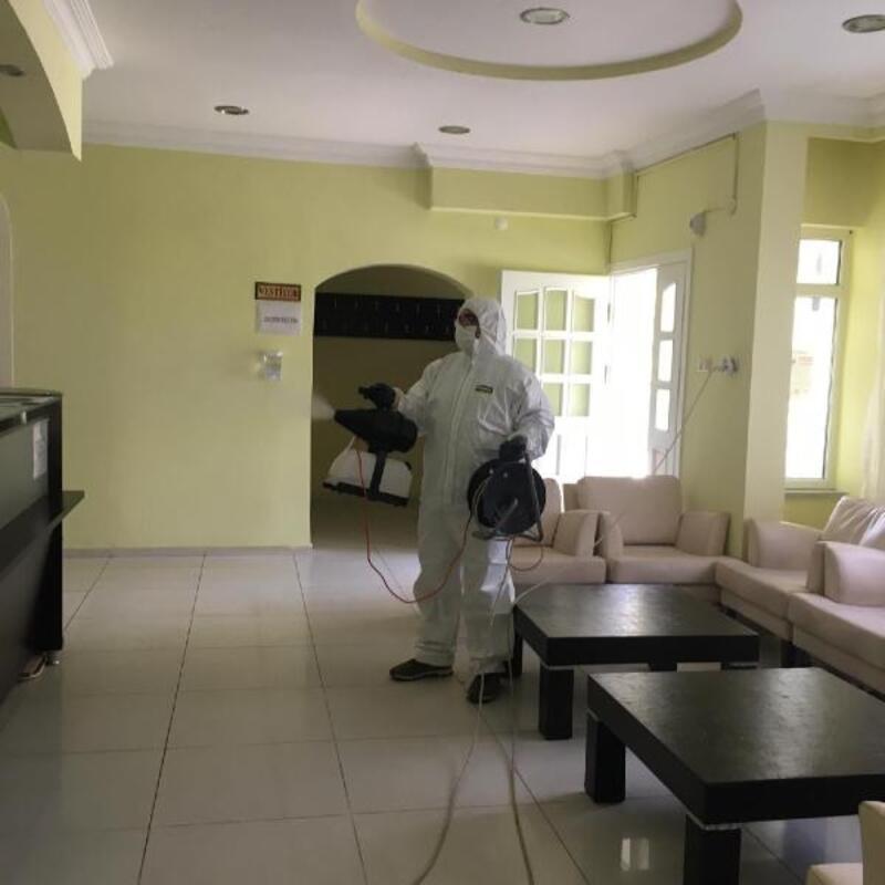 İpsala'da denetim ve dezenfeksiyon çalışmaları sürüyor