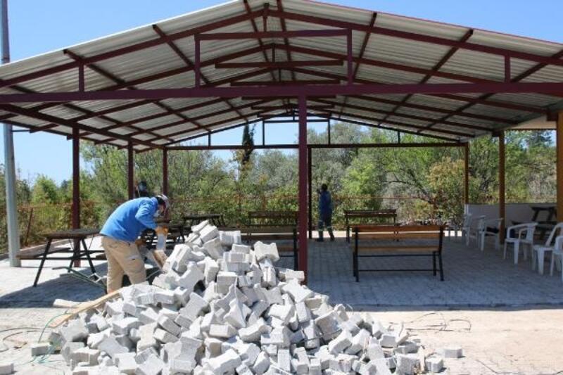 Büyükşehir'den Gündoğmuş'ta park ve sosyal tesis düzenlemesi