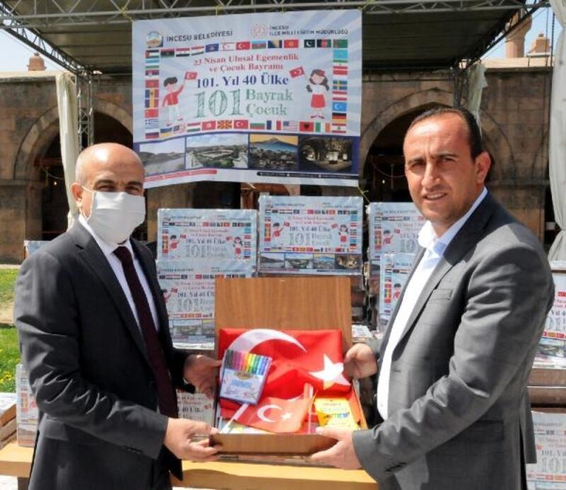 40 ülkeden 101 çocuğa '23 Nisan' hediyesi