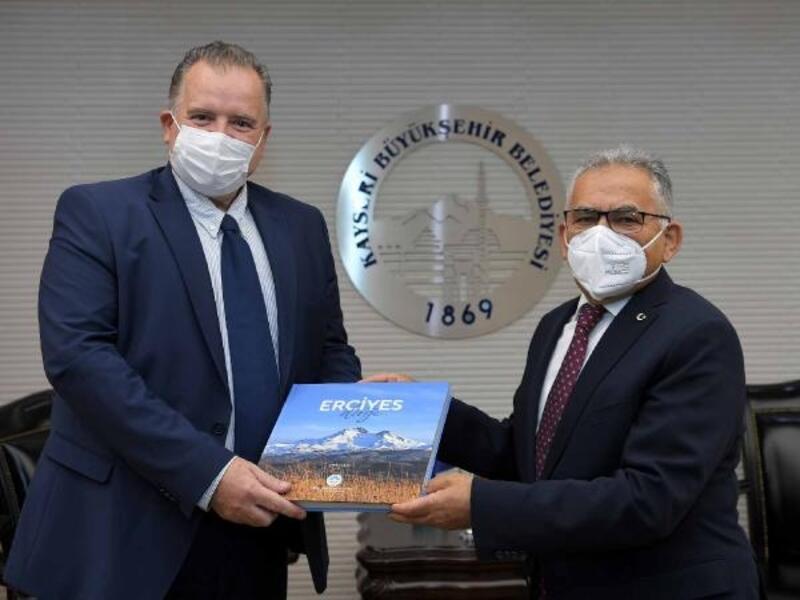 Hırvatistan Büyükelçisi'nden Başkan Büyükkılıç'a ziyaret
