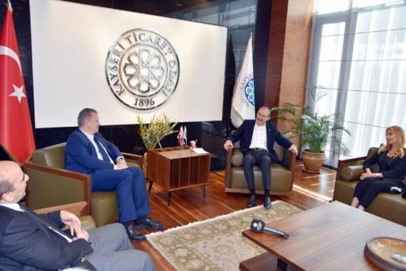 Hırvatistan Ankara Büyükelçisinden KTO'ya ziyaret