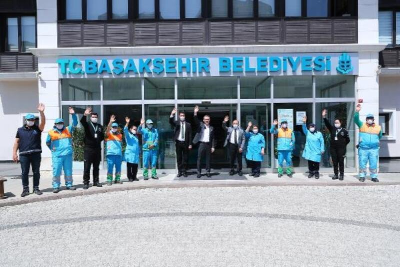 Başakşehir Belediyesi'nden  1 Mayıs için birlik ve beraberlik mesajı