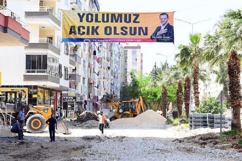 Mersin Büyükşehir Belediyesi'nden 'tam kapanma' mesaisi