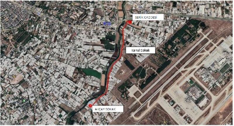 Çırnık-Lara Kanal Yolu trafiğe kapatılıyor
