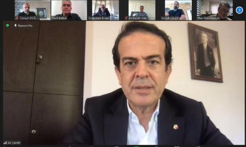 ATB Başkanı Çandır: Antalya durursa, Türkiye durur