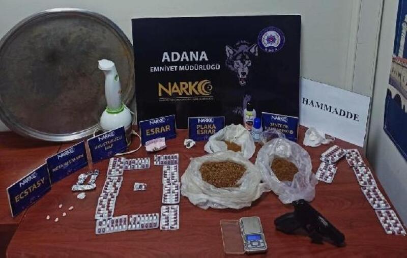 Adana'daki 'torbacı' operasyonlarına 76 tutuklama