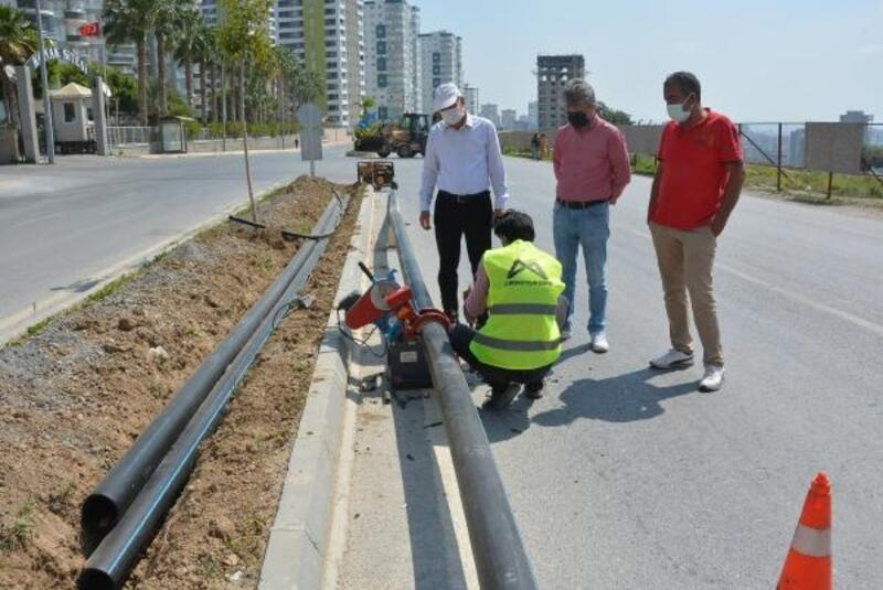 Büyükşehir'den çevrenin korunması ve su tasarrufu çalışması