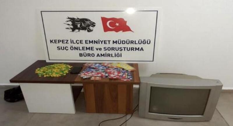 Kumar oynayan 17 kişiye 71 bin 376 lira ceza