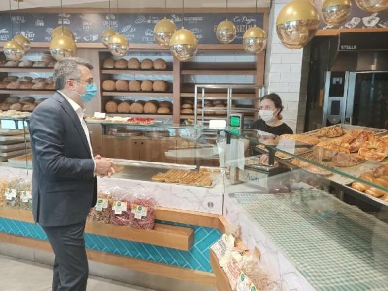Yıldırım Belediye Başkanı Yılmaz'dan esnafa ziyaret