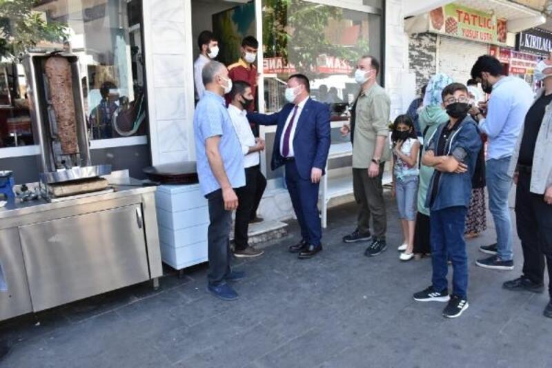 Tam kapanmanın ardından Beyoğlu'ndan esnaf ziyareti