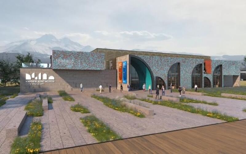 Kayseri'de Millet Bahçesi'ne Kent Müzesi yapılacak