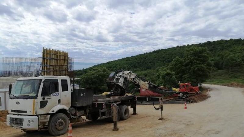Yenişehir'de iş kazası; 1 yaralı