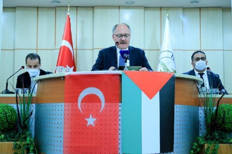Sivas Belediye Meclisi'nden Filistin'e destek