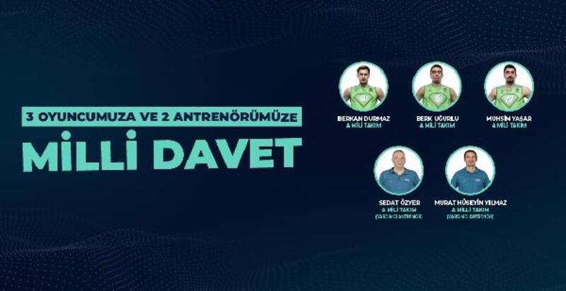 TOFAŞ'tan 3 oyuncu ve 2 antrenöre Milli davet