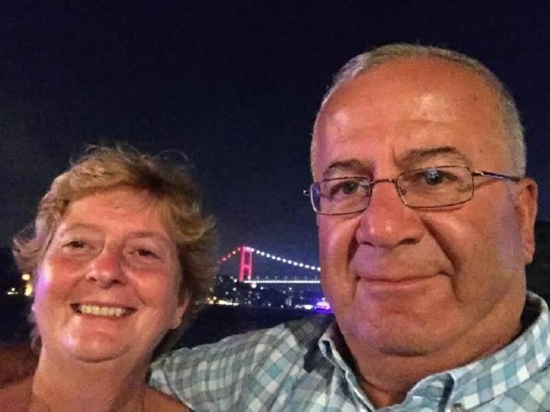 Dünya Azeri Türkleri Genel Koordinatörü Başar Kömür'ün eşi son yolculuğuna uğurlandı