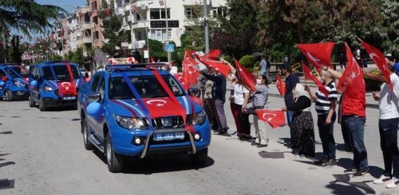 Burdur'da 19 Mayıs töreni