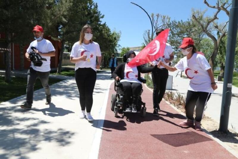 Gölbaşı'nda 19 Mayıs'a özel bayrak koşusu