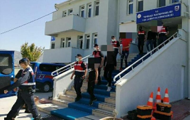 Eskişehir'de motosiklet çalan 5 şüpheli yakalandı