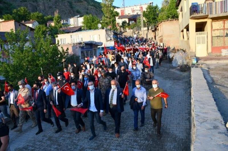 Beytüşşebap'ta 19 Mayıs'ta bayrak yürüyüşü